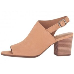 Lucky Brand | Suede Obelia Block Heels 6.5